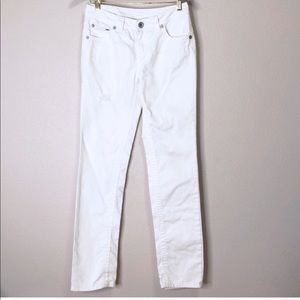 Justice | White Straight Leg Jeans  | 16R